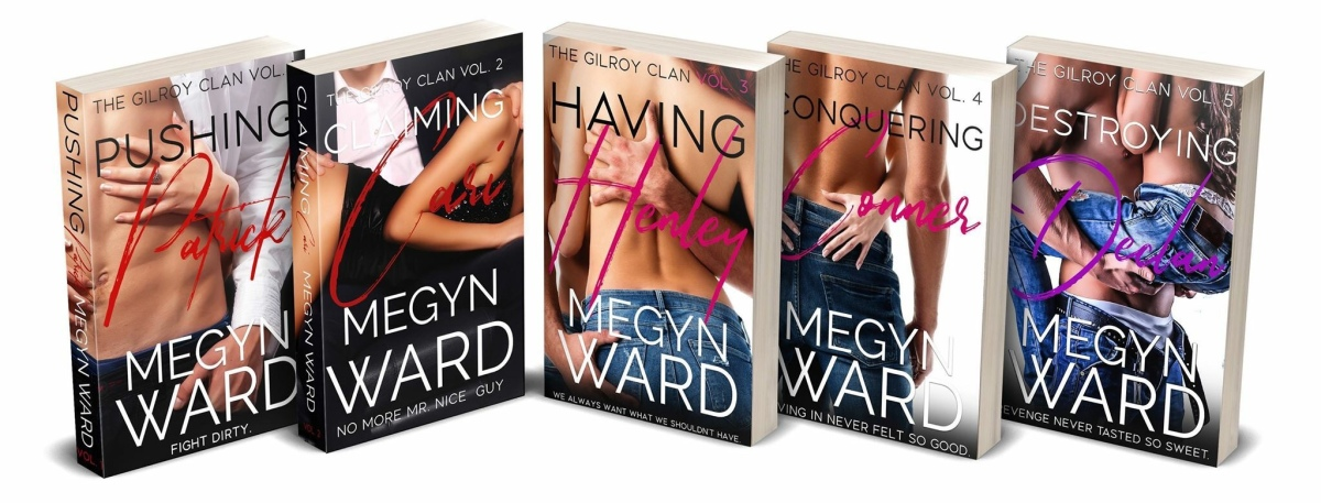The Gilroy Clan (5 Book Series)  by Megyn Ward